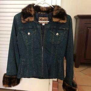 Vintage Mudd Denim Jean Jacket Women's Size S